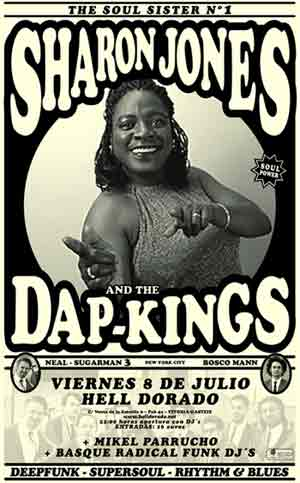 SHARON JONES ON TOUR